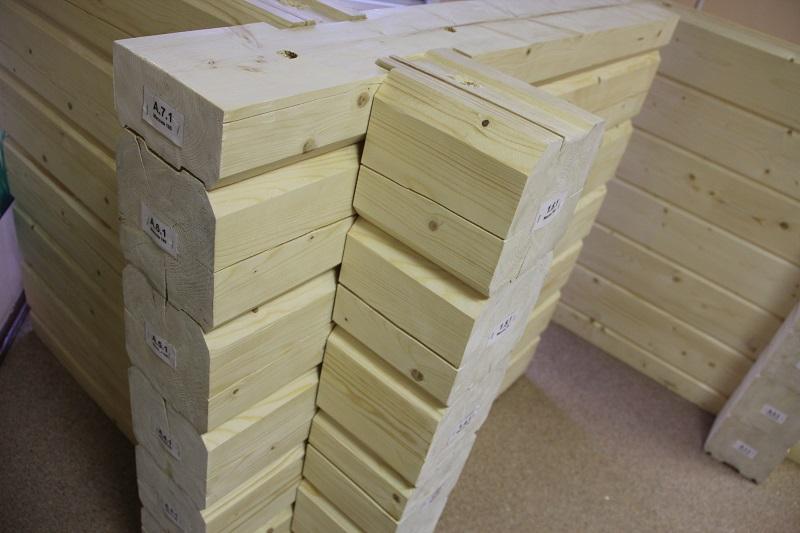 Производство клееного профилированного бруса и бруса камерной сушки