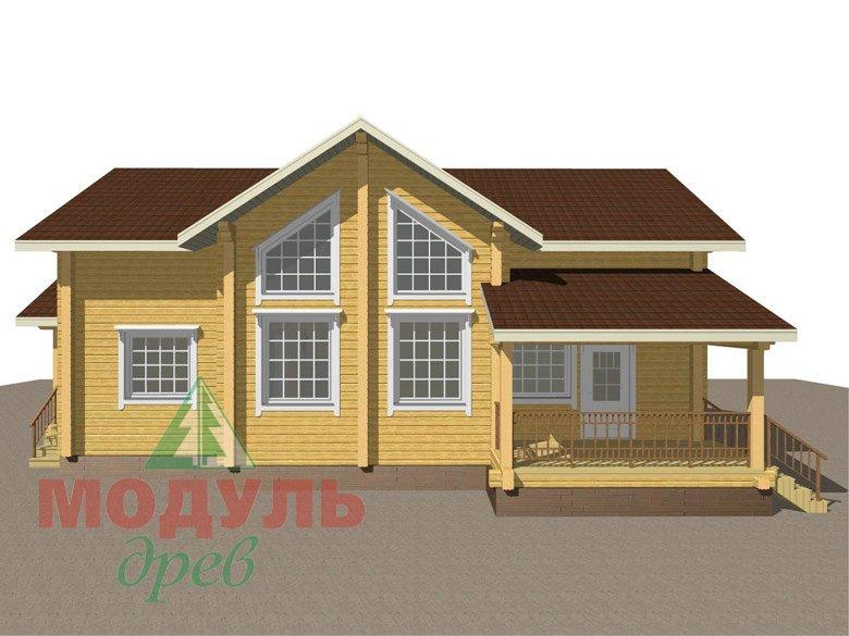 Дом из бруса «Ангарск» - макет 8
