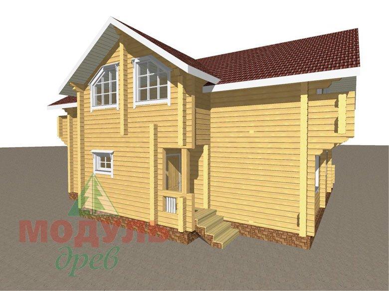 Проект дома из бруса «Аркон» - макет 7