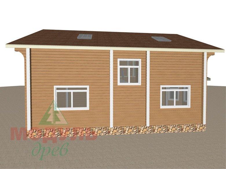 Проект дома из бруса «Аврора» - макет 7