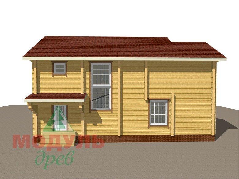 Проект дома из бруса «Белозерск» - макет 6