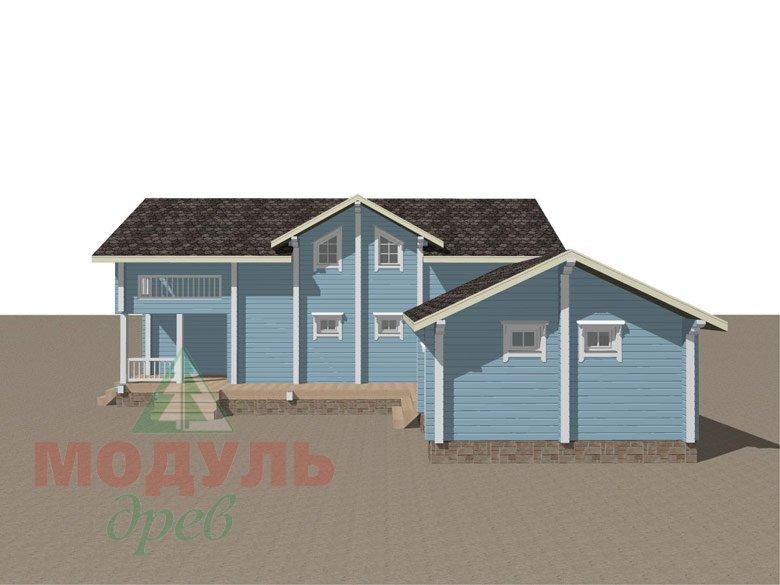 Проект дома «Братск» - макет 2