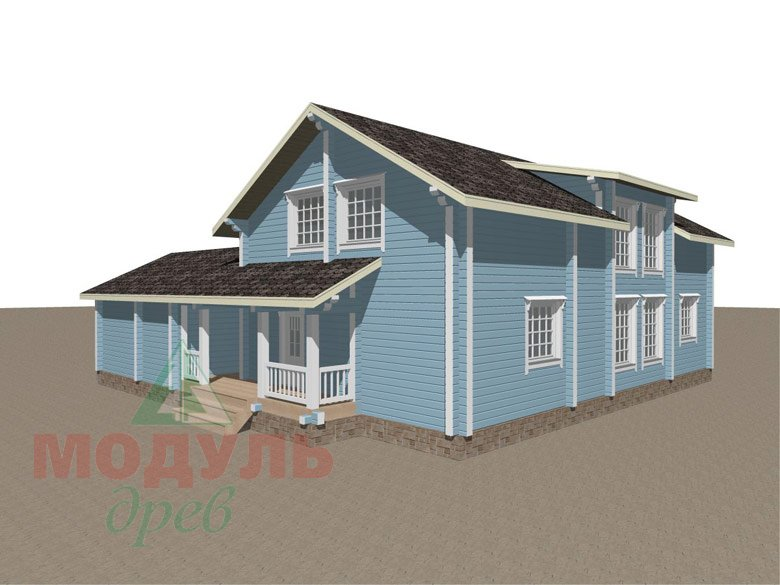 Проект дома «Братск» - макет 5