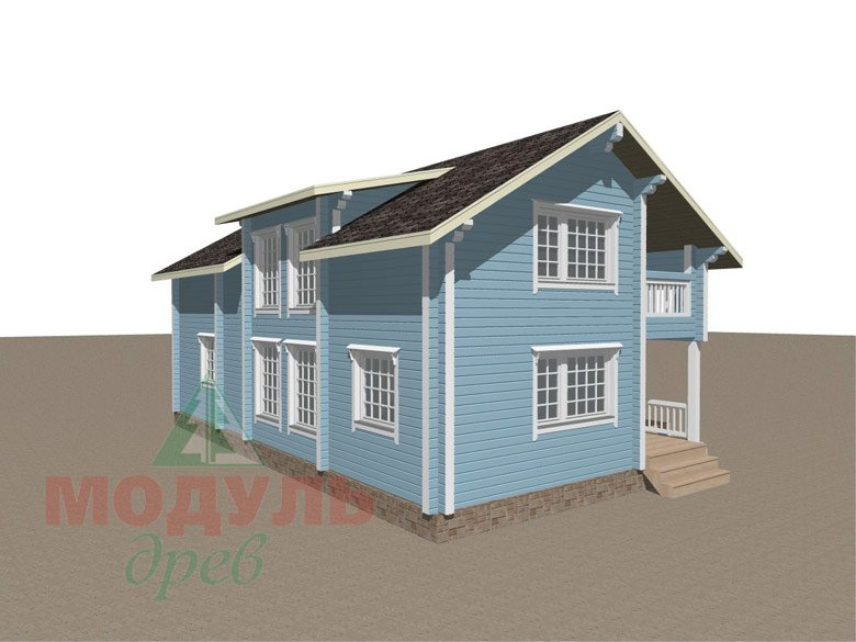 Проект дома «Братск» - макет 7