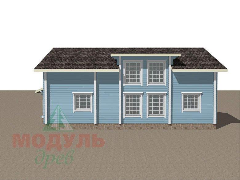 Проект дома «Братск» - макет 6
