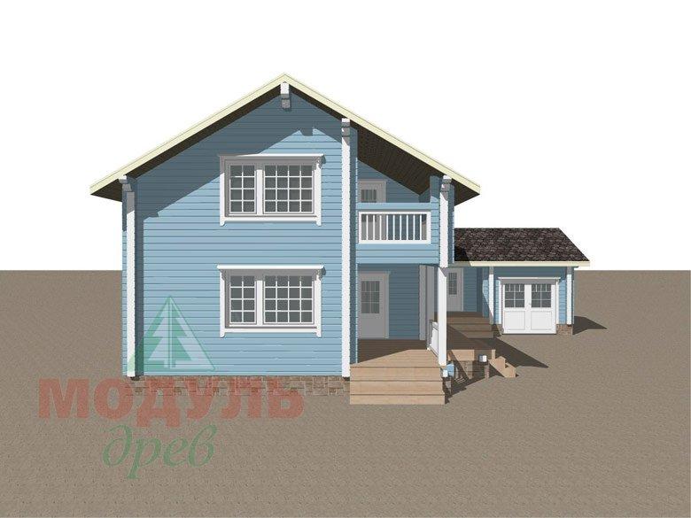 Проект дома «Братск» - макет 8