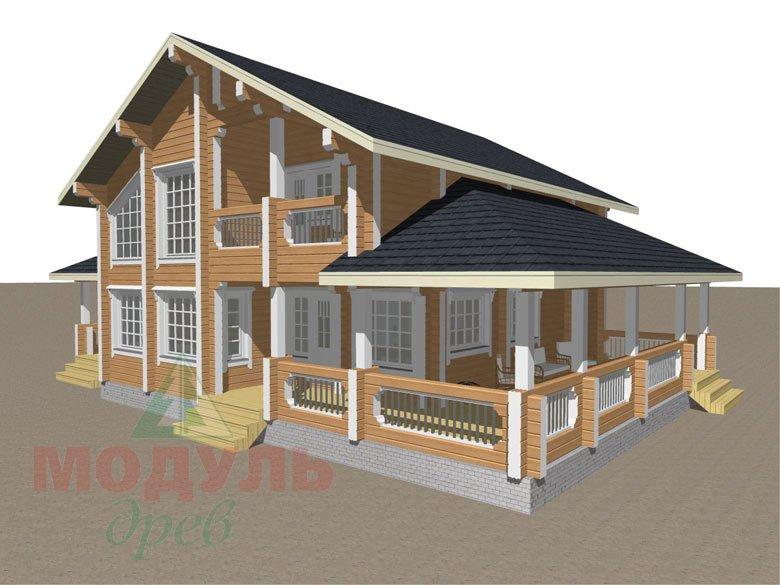 Проект загородной усадьбы «Чернигов» - макет 2