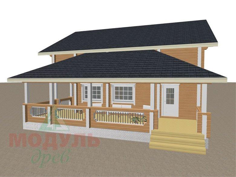 Проект загородной усадьбы «Чернигов» - макет 3