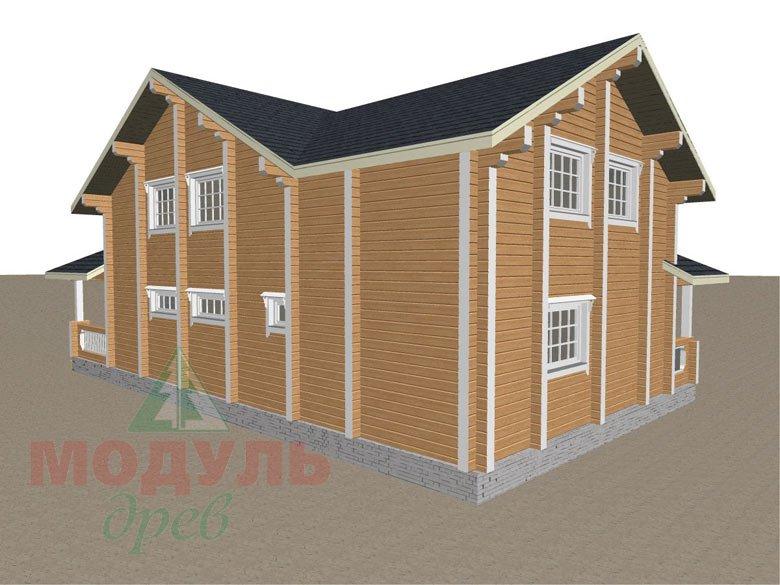 Проект загородной усадьбы «Чернигов» - макет 5