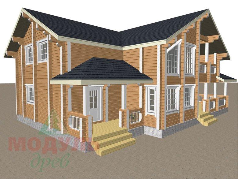 Проект загородной усадьбы «Чернигов» - макет 7