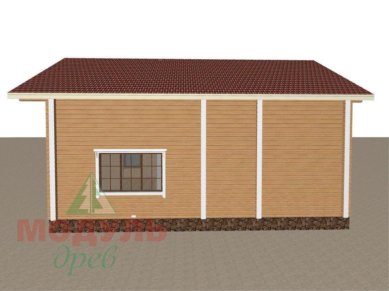 Дом из бруса «Дубна» - макет 7