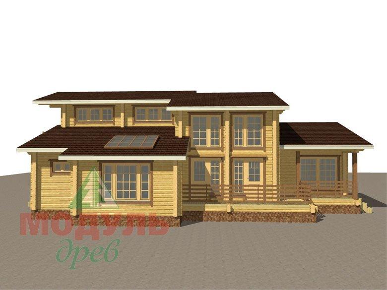 Проект дома из бруса «Ейск» - макет 7