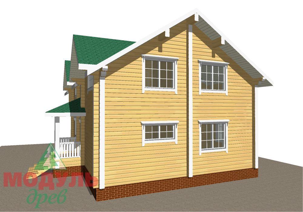 Брусовой дом «Енисей» - макет 5