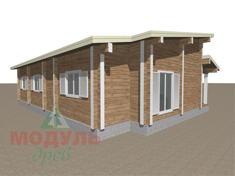 Дом из бруса «Феодосия» - макет 5
