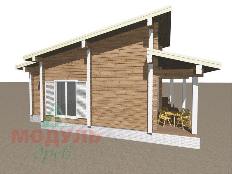 Дом из бруса «Феодосия» - макет 6