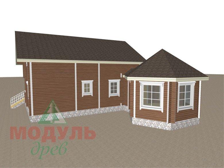 Дом из бруса «Глория» - макет 7