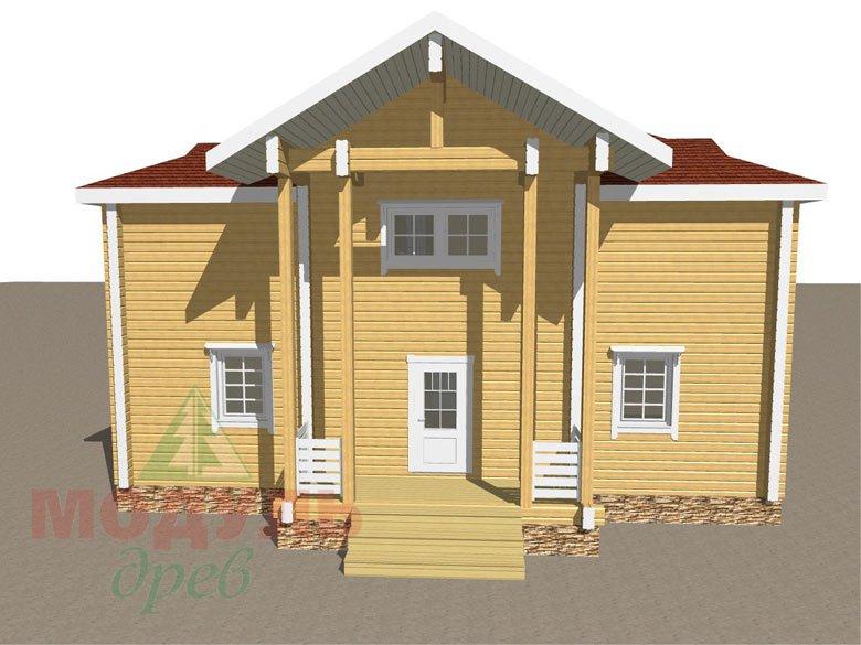 Дом из бруса «Голубино» - макет 5