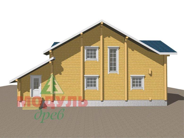 Дом из бруса «Ижевск» - макет 5
