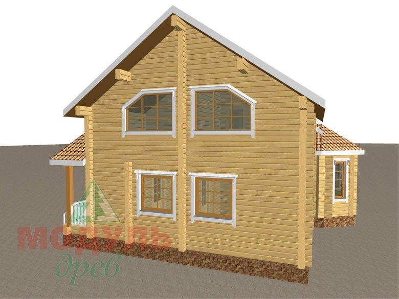 Дом из бруса «Климово» - макет 4