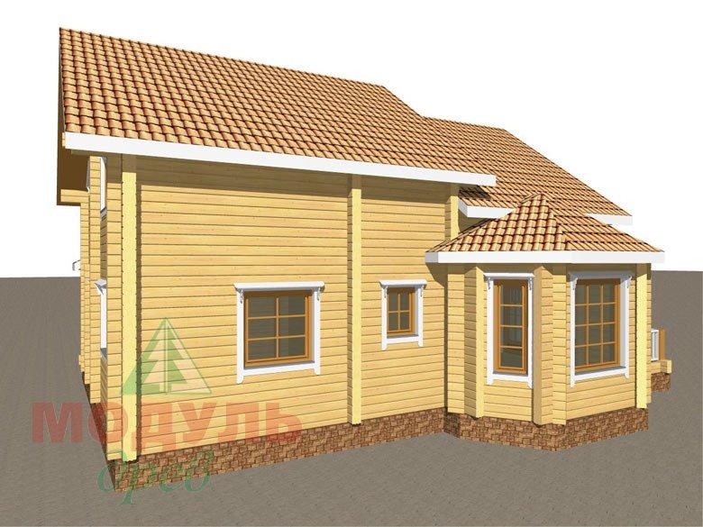 Дом из бруса «Климово» - макет 5