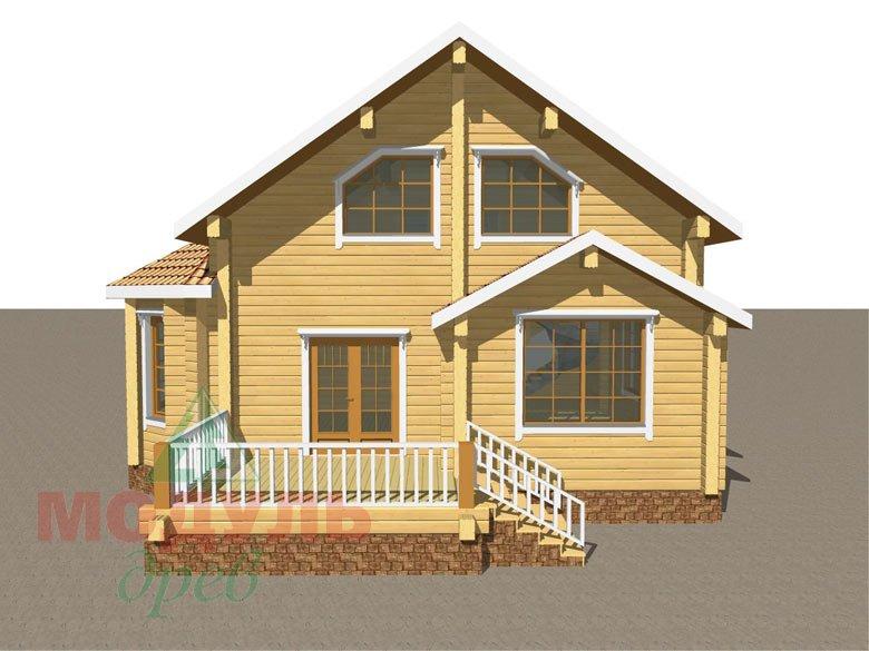 Дом из бруса «Климово» - макет 8
