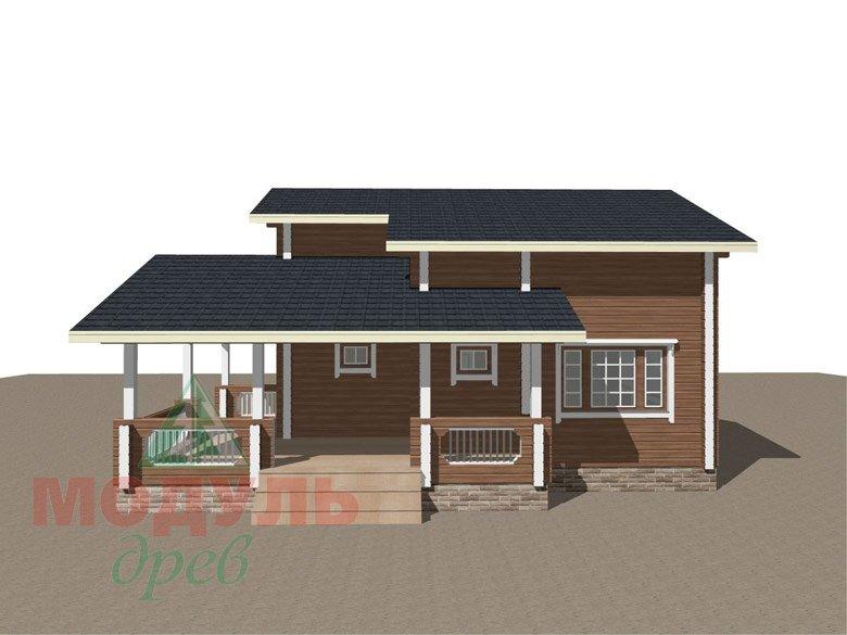 Брусовой дом «Ковров» - макет 2