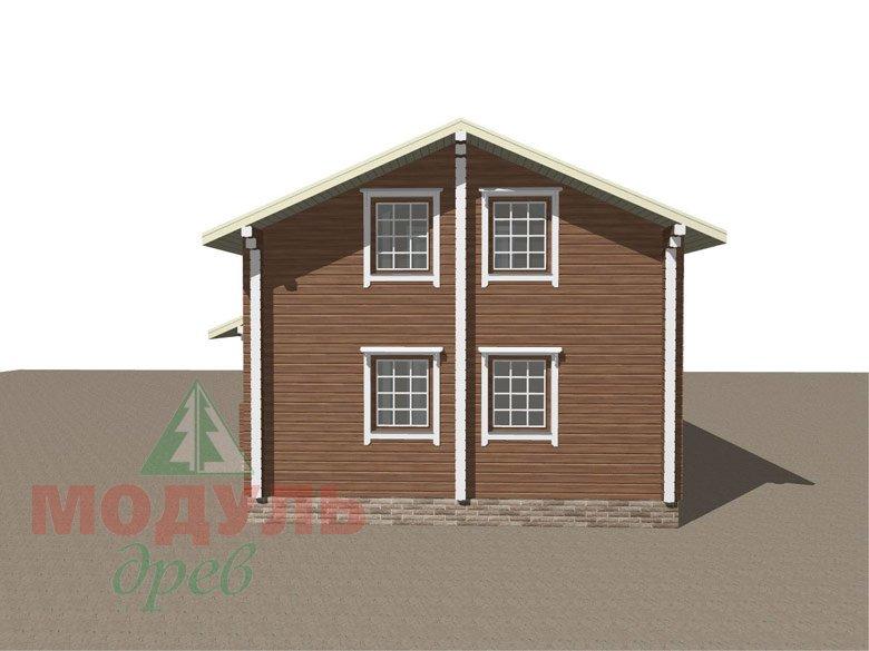 Брусовой дом «Ковров» - макет 4