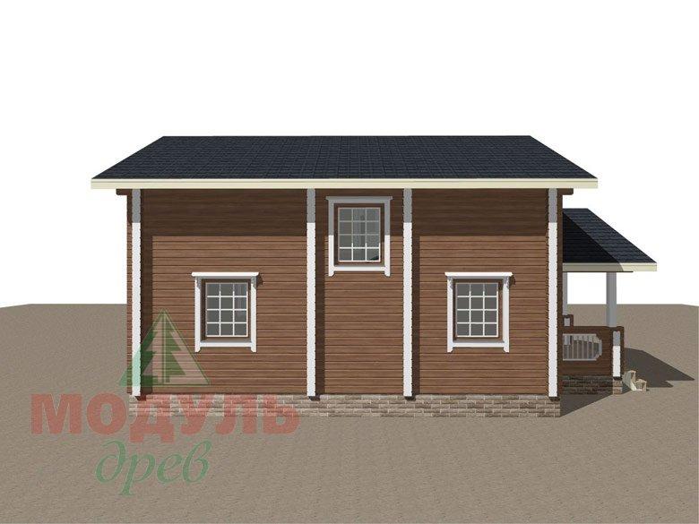 Брусовой дом «Ковров» - макет 6