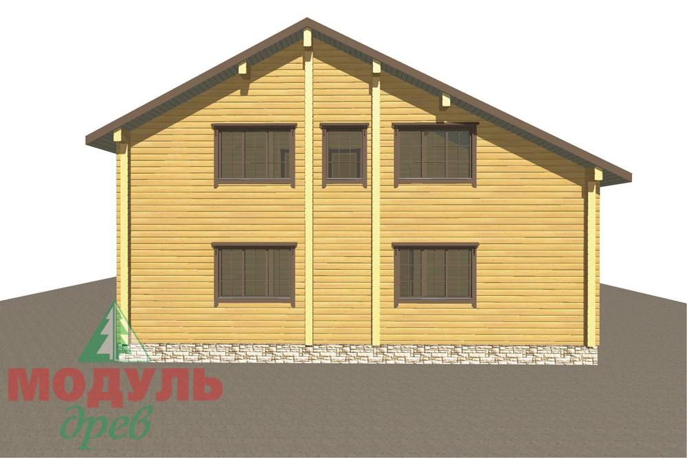 Дом из бруса «Кулой» - макет 4