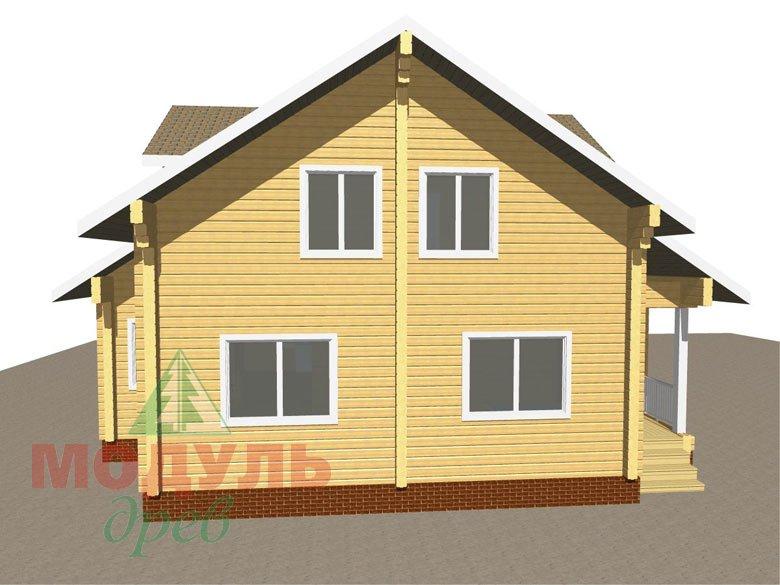 Дом из бруса «Курган» - макет 7