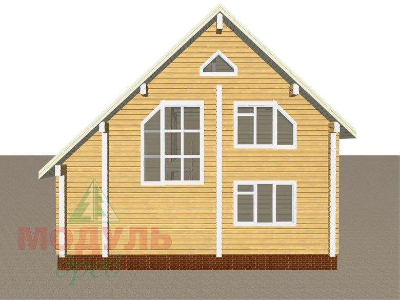 Дом из бруса «Ладога» - макет 5