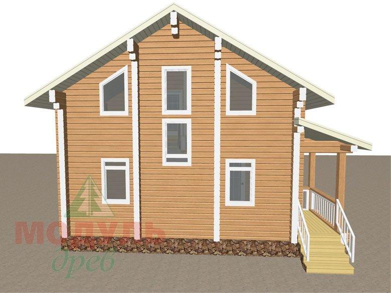Дом из бруса «Луговой» - макет 5