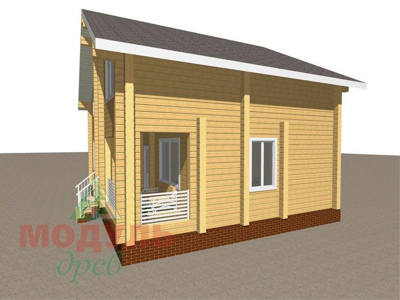 Проект дома «Львов» - Макет 2