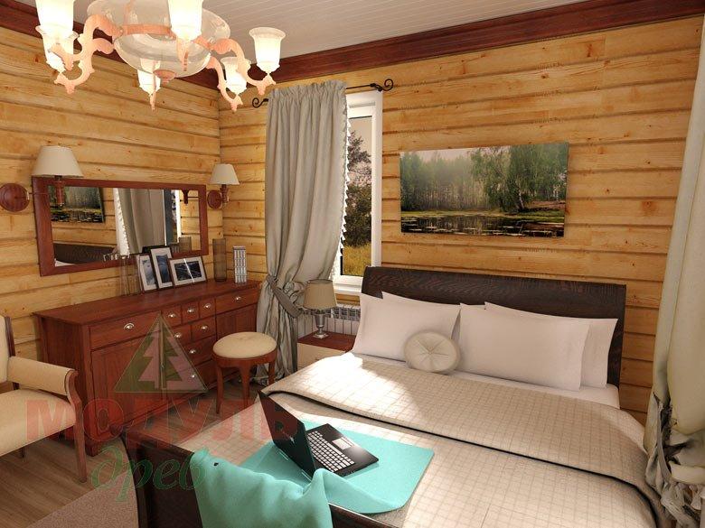 Дом из бруса «Мечта-1» - Спальня
