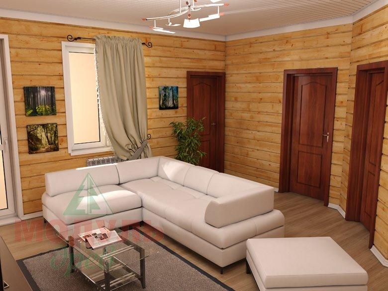 Дом из бруса «Мечта-1» - Гостиная 2