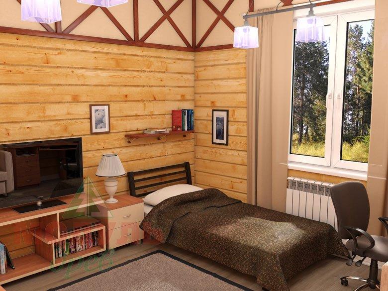 Дом из бруса «Мечта-1» - Комната