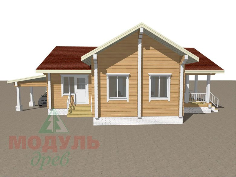 Дом из бруса «Мечта-2» - макет 5