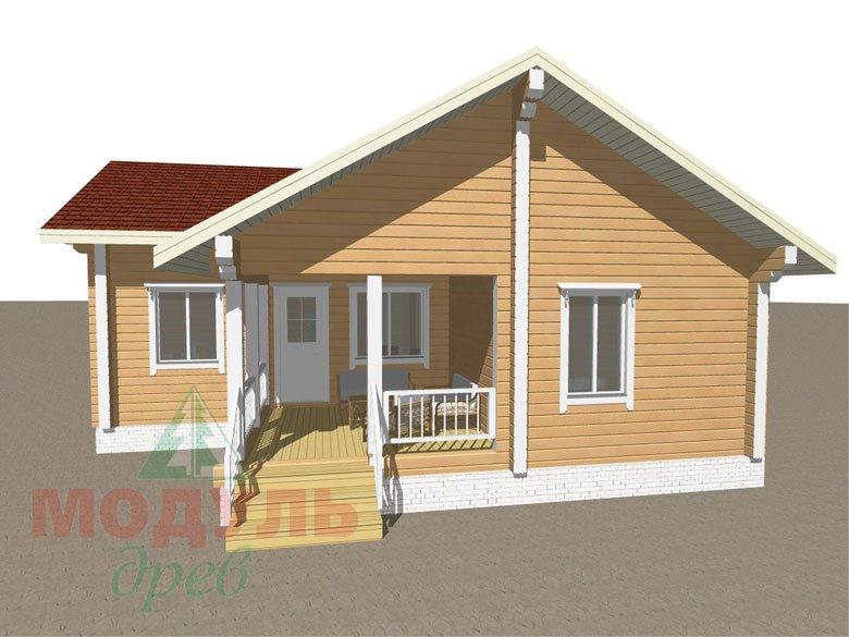 Дом из бруса «Мечта-2» - макет 7