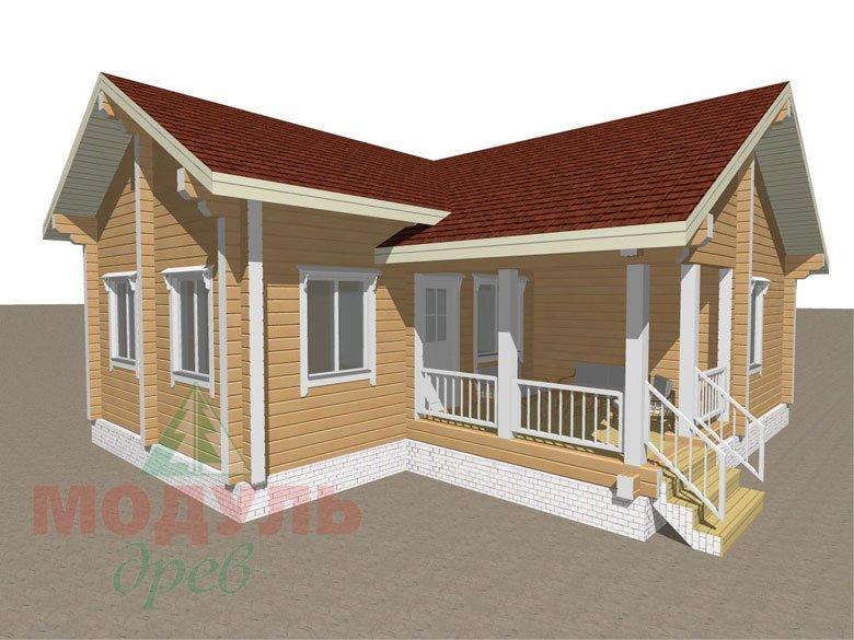 Дом из бруса «Мечта-2» - макет 6