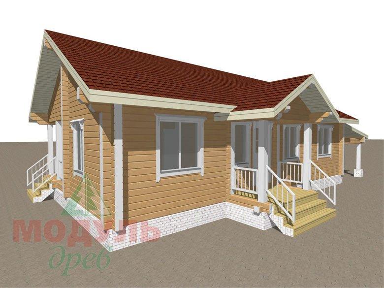 Дом из бруса «Мечта-2» - макет 8