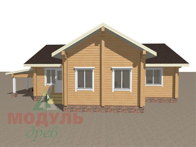 Брусовой дом «Мечта-3» - макет 5