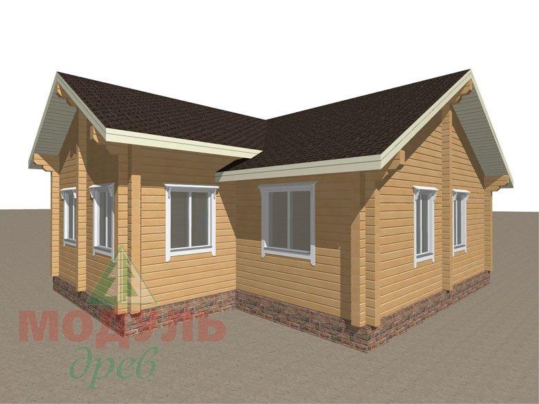 Брусовой дом «Мечта-3» - макет 6