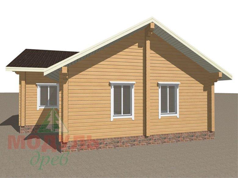 Брусовой дом «Мечта-3» - макет 7