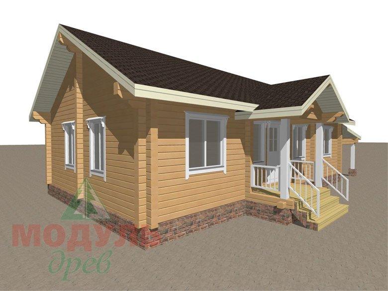 Брусовой дом «Мечта-3» - макет 8