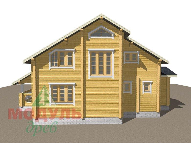 Дом из бруса «Новороссийск» - макет 6