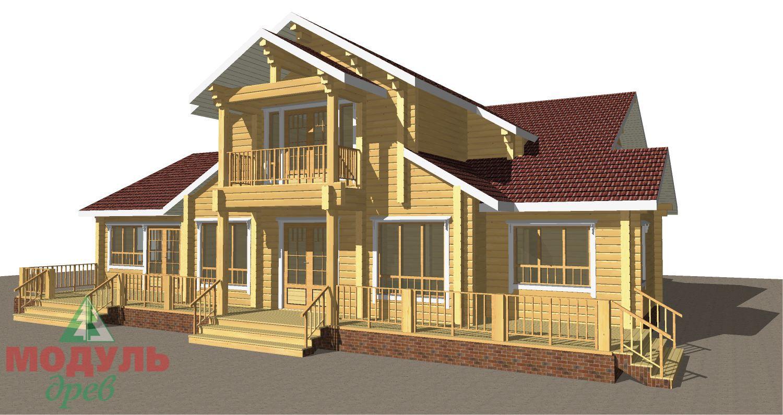 Проект дома из бруса «Орион» - макет 7