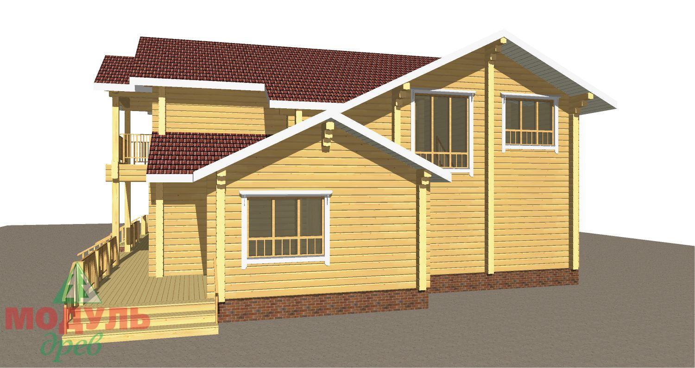 Проект дома из бруса «Орион» - макет 8