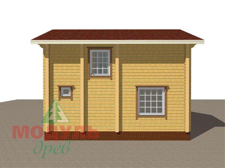 Дом из бруса «Череповец» - Макет 6
