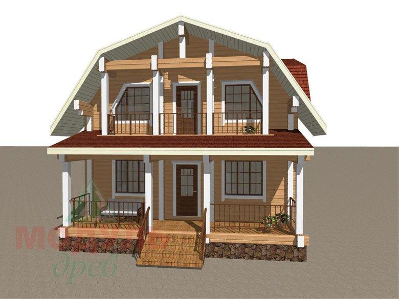 Дом из бруса «Рассказово» - макет 5