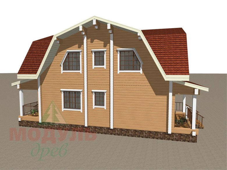 Дом из бруса «Рассказово» - макет 7